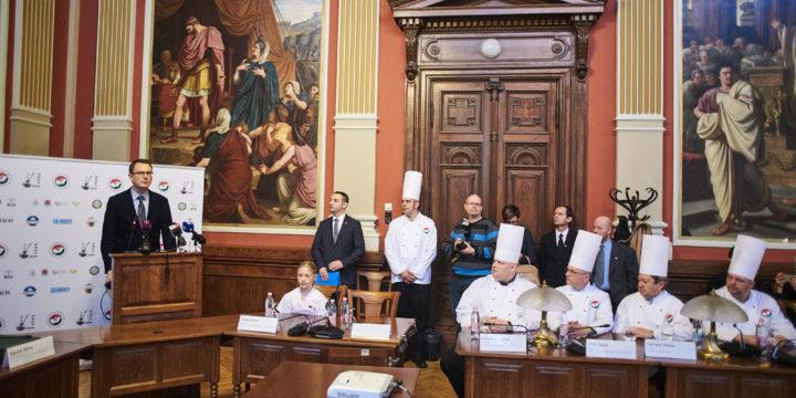 Meghirdették a Magyarország étele 2018 és a 2018-as OKÉS országos közétkeztetési szakácsversenyt