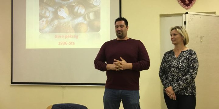 Hagyományos és reform pékáruk a Chef workshop-on